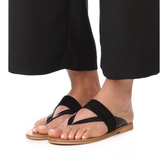 0083ed2d14860b Vince black suede and leather Tess sandals. M 5a849e0cc9fcdf9892dd9f41